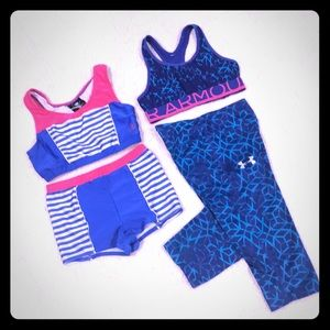 """Under Amour & Body  Glove """"Sports Fitted for kids"""""""